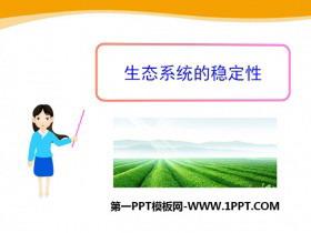 《生态系统的稳定性》PPT