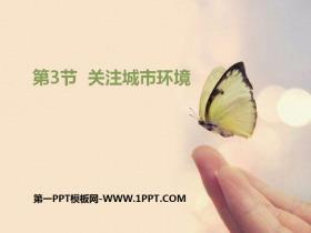 《关注城市环境》PPT课件
