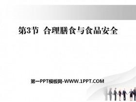 《合理膳食与食品安全》PPT下载
