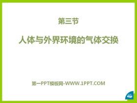 《人体和外界环境的气体交换》PPT课件
