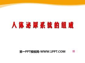 《人体泌尿系统的组成》PPT