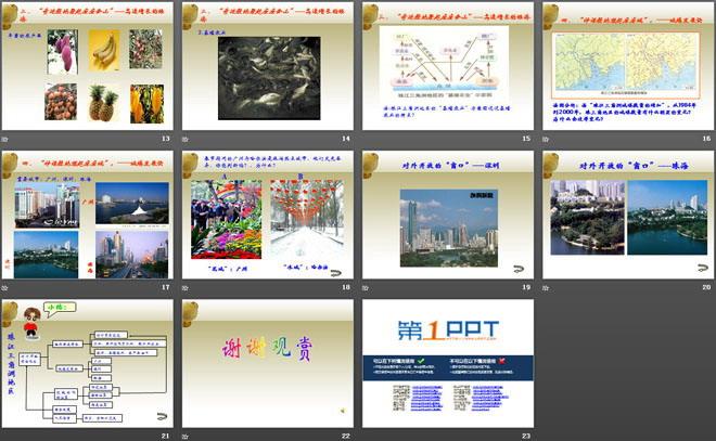 《珠江三角洲地区》PPT课件