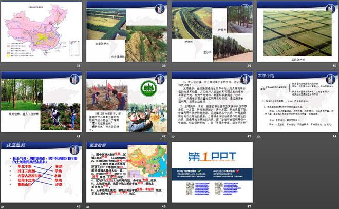 《合理利用土地资源》PPT