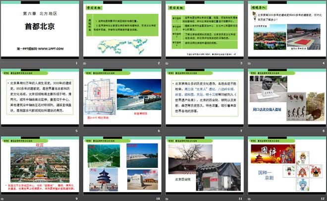 《首都北京》PPT免费课件