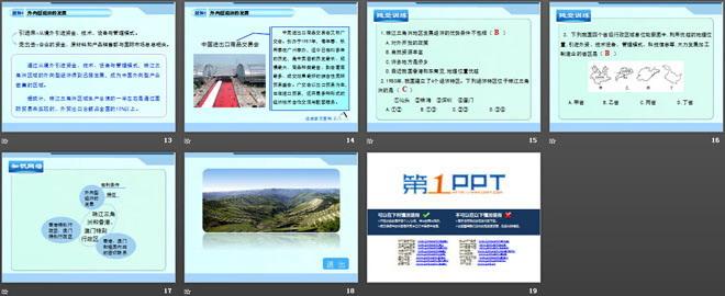 《珠江三角洲和香港、澳门特别行政区》PPT