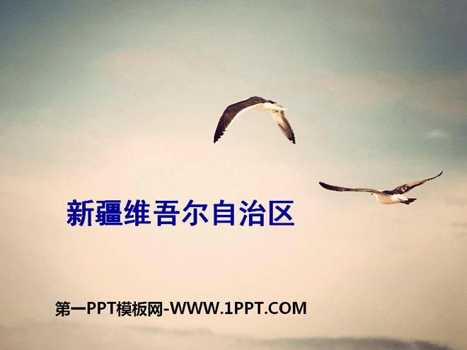《新疆维吾尔自治区》PPT课件下载