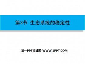 《生态系统的稳定性》PPT课件