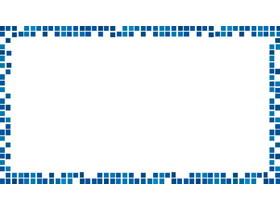 四���{色方�KPPT�框背景�D片