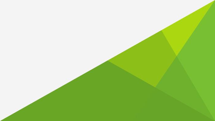 三张绿色多边形PowerPoint背景图片
