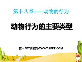 《动物行为的主要类型》PPT下载