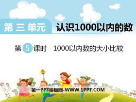 《1000以内数的大小比较》PPT