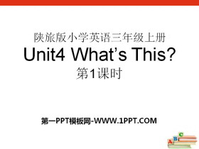 《What's This?》PPT