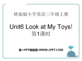 《Look at My Toys》PPT