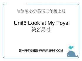 《Look at My Toys》PPT课件