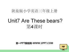 《Are These Bears?》PPT�n件下�d