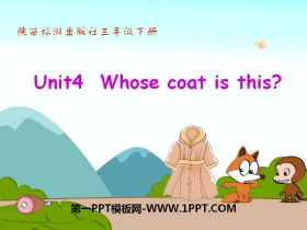 《Whose Coat Is This?》PPT