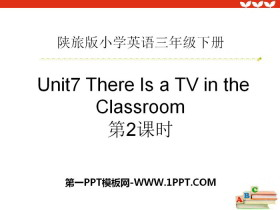 《There Is a TV in the Classroom》PPT�n件