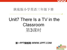 《There Is a TV in the Classroom》PPT下�d