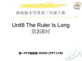 《The Ruler Is Long》PPT下�d