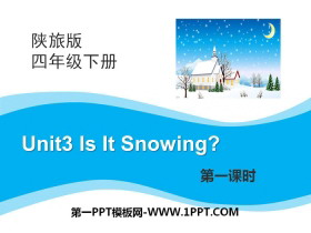 《Is It Snowing?》PPT