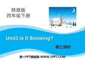 《Is It Snowing?》PPT下载