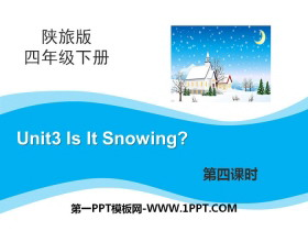 《Is It Snowing?》PPT课件下载