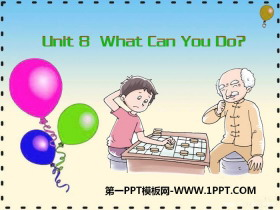 《What Can You Do?》PPT