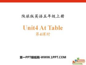 《At Table》PPT课件下载