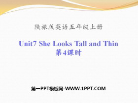 《She Looks Tall and Thin》PPT�n件下�d