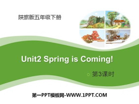 《Spring Is Coming》PPT下载