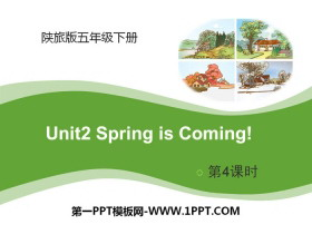 《Spring Is Coming》PPT课件下载