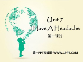 《I Have a Headache》PPT