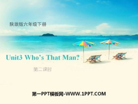 《Who's That Man?》PPT课件