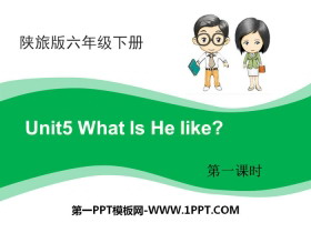 《What Is He Like?》PPT