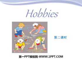 《Hobbies》PPT�n件