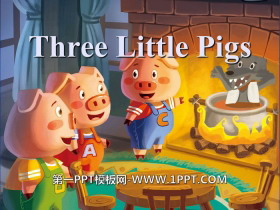 《Three little pigs》PPT