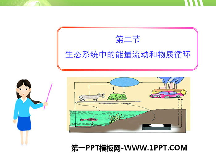 《生态系统中的能量流动和物质循环》PPT
