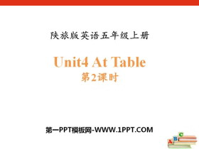 《At Table》PPT课件