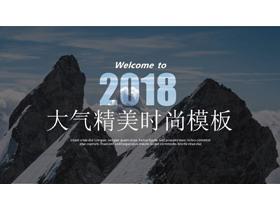欧美自然风景图片排版设计PPT中国嘻哈tt娱乐平台