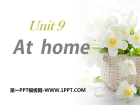 《At home》PPT