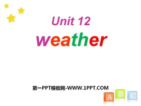 《Weather》PPT�n件