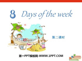 《Days of the week》PPT课件