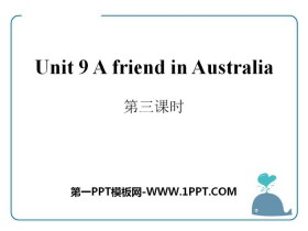 《A friend in Australia》PPTtt娱乐官网平台