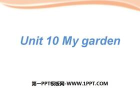 《My garden》PPT