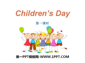 《Children's day》PPT