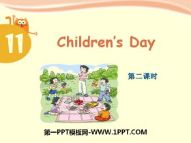 《Children's day》PPT课件