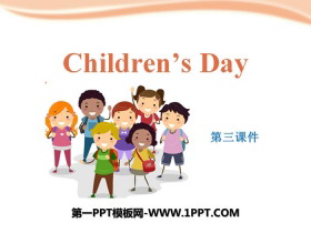 《Children's day》PPT下载