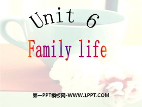 《Family life》PPT
