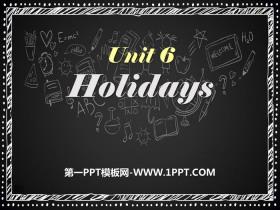 《Holidays》PPT课件