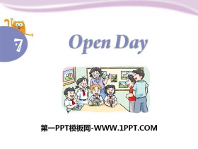 《Open day》PPT